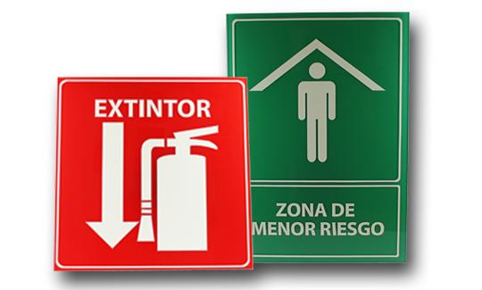señalizacion proteccion civil