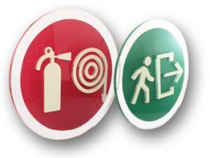 señalización protección civil