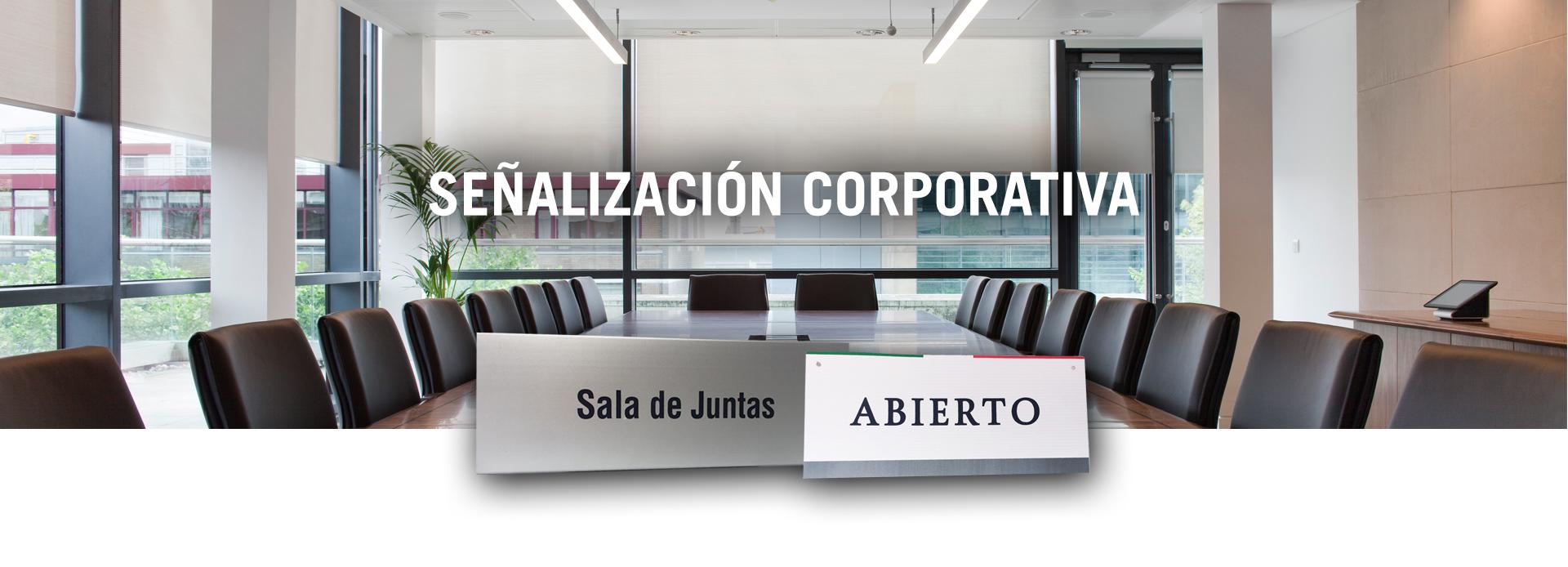 señalización oficinas